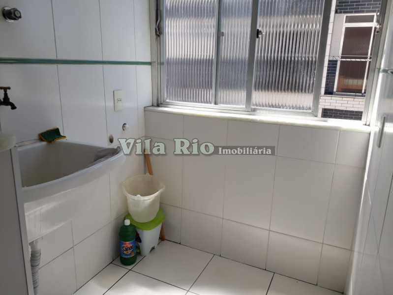 ÁREA - Apartamento 2 quartos para alugar Vila da Penha, Rio de Janeiro - R$ 1.200 - VAP20588 - 24