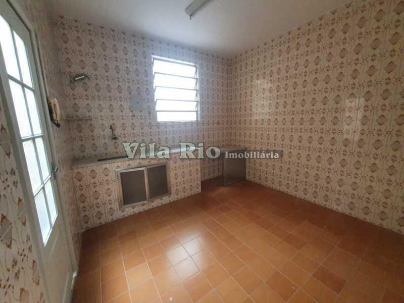 COZINHA. - Casa 1 quarto à venda Vila da Penha, Rio de Janeiro - R$ 160.000 - VCA10004 - 8