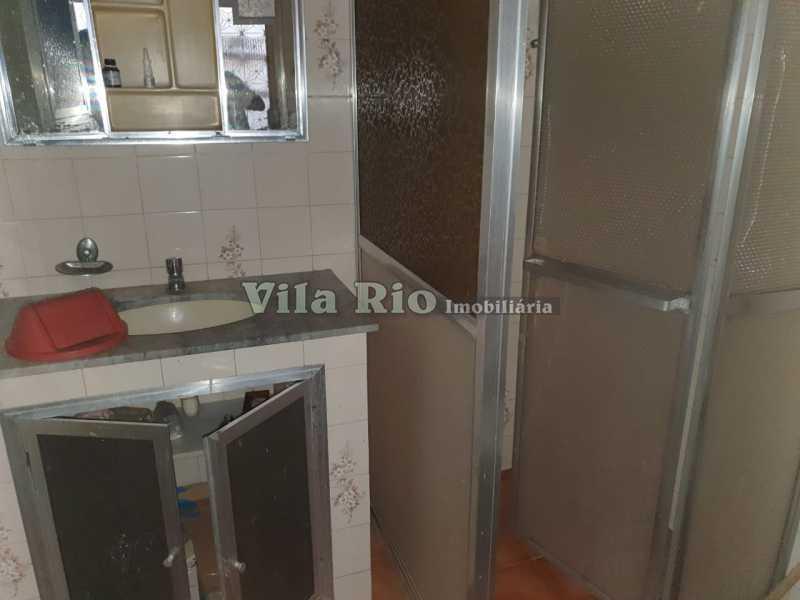 BANHEIRO 1. - Casa de Vila Madureira, Rio de Janeiro, RJ À Venda, 3 Quartos, 85m² - VCV30011 - 7