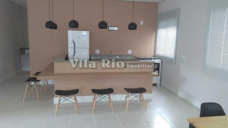 SALÃO DE FESTAS 1 - Apartamento 2 quartos à venda Vista Alegre, Rio de Janeiro - R$ 260.000 - VAP20593 - 21