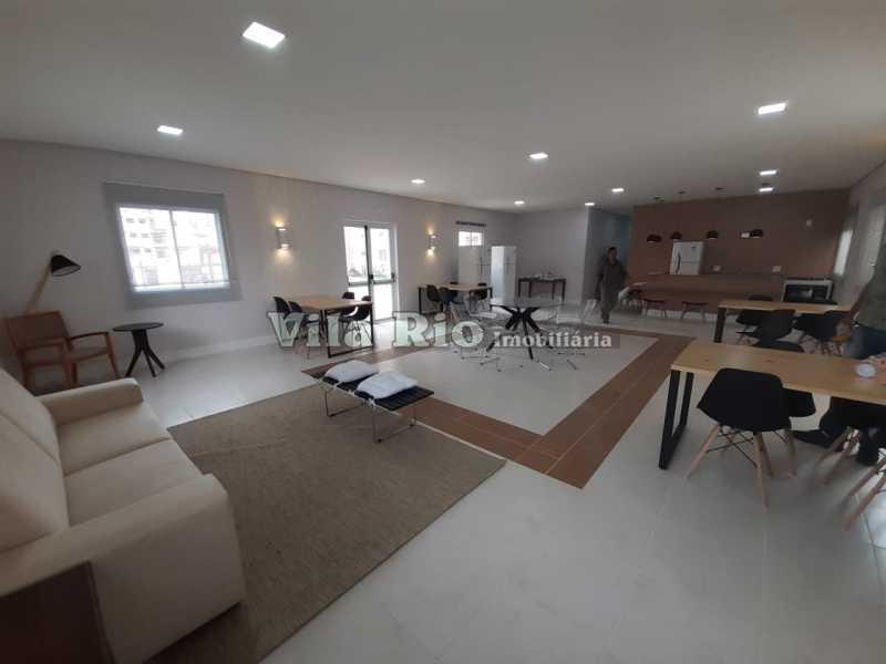 SALÃO DE FESTAS 2 - Apartamento 2 quartos à venda Vista Alegre, Rio de Janeiro - R$ 260.000 - VAP20593 - 22