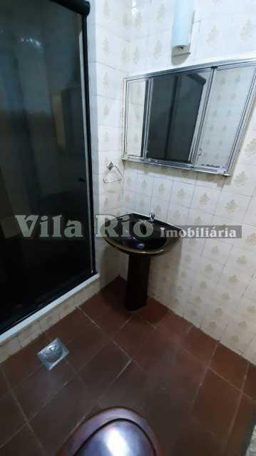 BANHEIRO 1 - Casa 2 quartos à venda Vila da Penha, Rio de Janeiro - R$ 265.000 - VCA20056 - 11