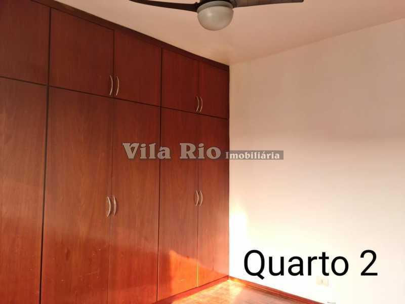 QUARTO 2. - Apartamento 2 quartos para alugar Vila da Penha, Rio de Janeiro - R$ 980 - VAP20594 - 8