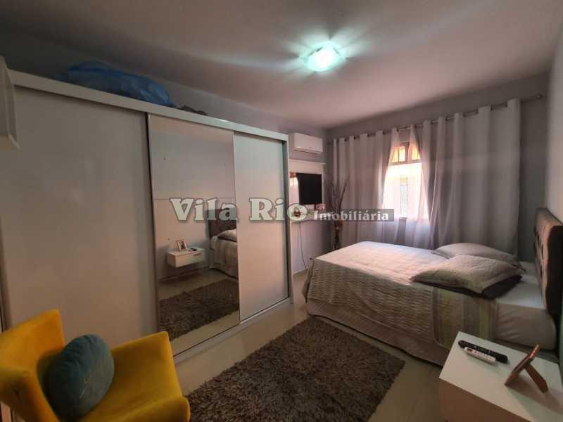 QUARTO 1. - Casa 2 quartos à venda Braz de Pina, Rio de Janeiro - R$ 220.000 - VCA20058 - 3