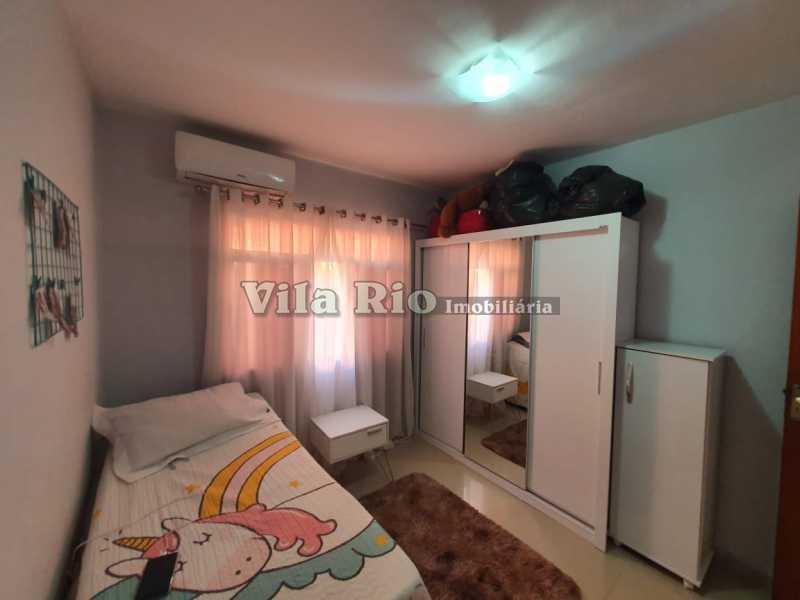 QUARTO 3. - Casa 2 quartos à venda Braz de Pina, Rio de Janeiro - R$ 220.000 - VCA20058 - 5
