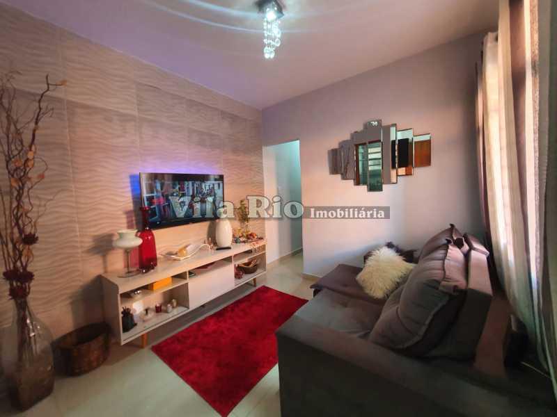 SALA. - Casa 2 quartos à venda Braz de Pina, Rio de Janeiro - R$ 220.000 - VCA20058 - 1
