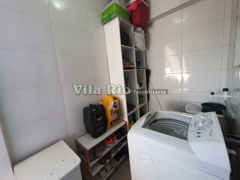 ÁREA. - Casa 2 quartos à venda Braz de Pina, Rio de Janeiro - R$ 220.000 - VCA20058 - 9