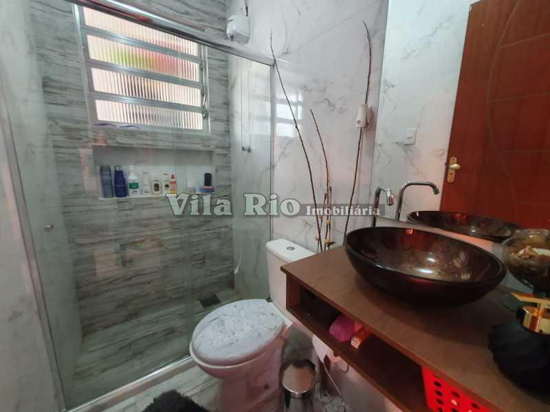 BANHEIRO. - Casa 2 quartos à venda Braz de Pina, Rio de Janeiro - R$ 220.000 - VCA20058 - 7