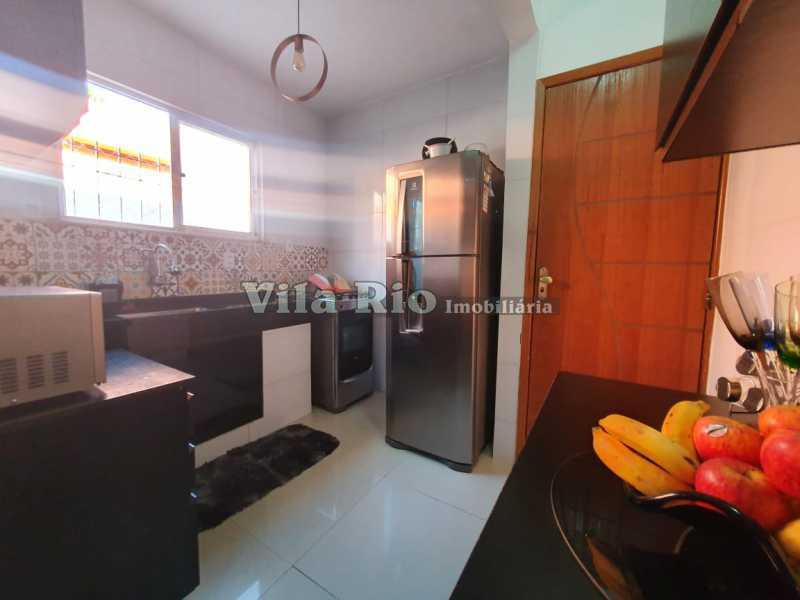 COZINHA 1. - Casa 2 quartos à venda Braz de Pina, Rio de Janeiro - R$ 220.000 - VCA20058 - 8