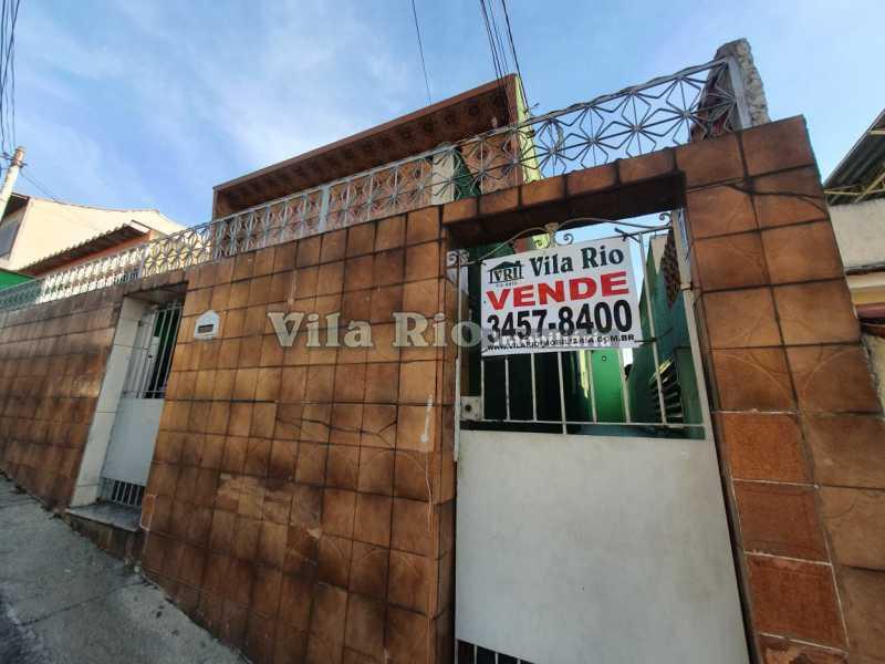 FACHADA. - Casa 2 quartos à venda Braz de Pina, Rio de Janeiro - R$ 220.000 - VCA20058 - 12