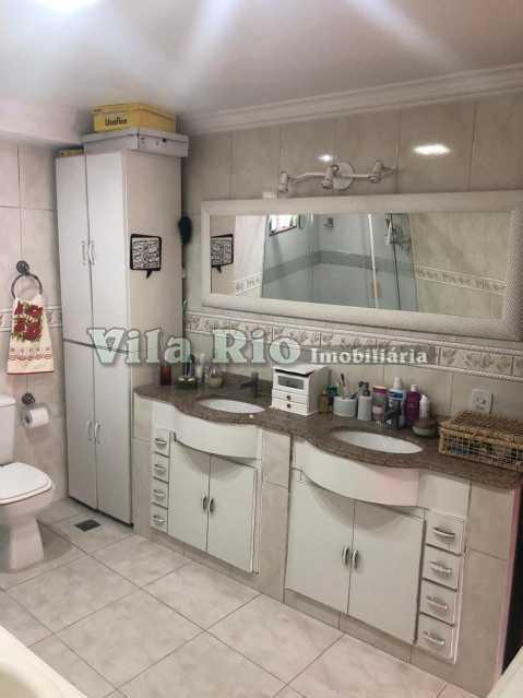 BANHEIRO 1. - Casa em Condomínio 4 quartos à venda Cascadura, Rio de Janeiro - R$ 650.000 - VCN40008 - 7