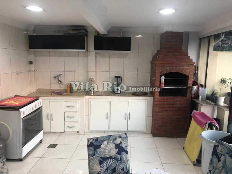 CHURRASQUEIRA. - Casa em Condomínio 4 quartos à venda Cascadura, Rio de Janeiro - R$ 650.000 - VCN40008 - 17