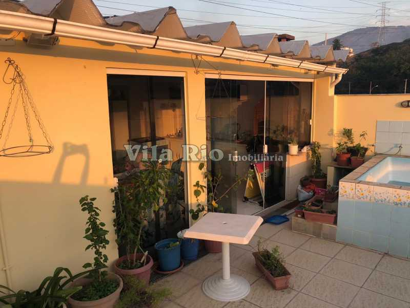 TERRAÇO 1. - Casa em Condomínio 4 quartos à venda Cascadura, Rio de Janeiro - R$ 650.000 - VCN40008 - 21