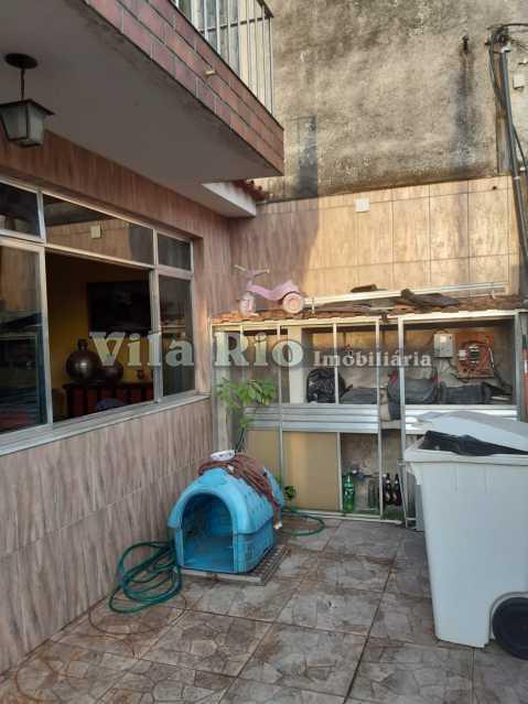 AREA FRENTE - Casa 3 quartos à venda Jardim América, Rio de Janeiro - R$ 520.000 - VCA30065 - 24