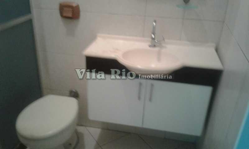 BANHEIRO 1. - Casa 2 quartos para alugar Vila da Penha, Rio de Janeiro - R$ 1.200 - VCA20059 - 9