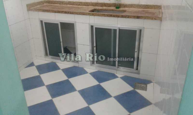 COZINHA 2. - Casa 2 quartos para alugar Vila da Penha, Rio de Janeiro - R$ 1.200 - VCA20059 - 12
