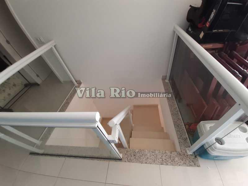 ESCADA DE SUBIDA PARA 2º PAVI - Cobertura 3 quartos à venda Praça Seca, Rio de Janeiro - R$ 400.000 - VCO30016 - 14