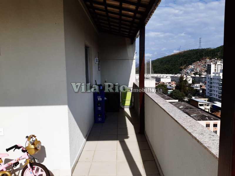TERRAÇO - Cobertura 3 quartos à venda Praça Seca, Rio de Janeiro - R$ 400.000 - VCO30016 - 17