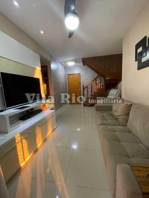 SALA 1 - Cobertura 4 quartos à venda Vila da Penha, Rio de Janeiro - R$ 748.000 - VCO40005 - 1