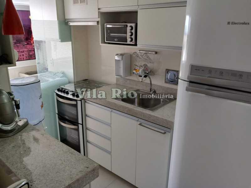 COZINHA 2 - Apartamento 2 quartos à venda Vicente de Carvalho, Rio de Janeiro - R$ 260.000 - VAP20633 - 16