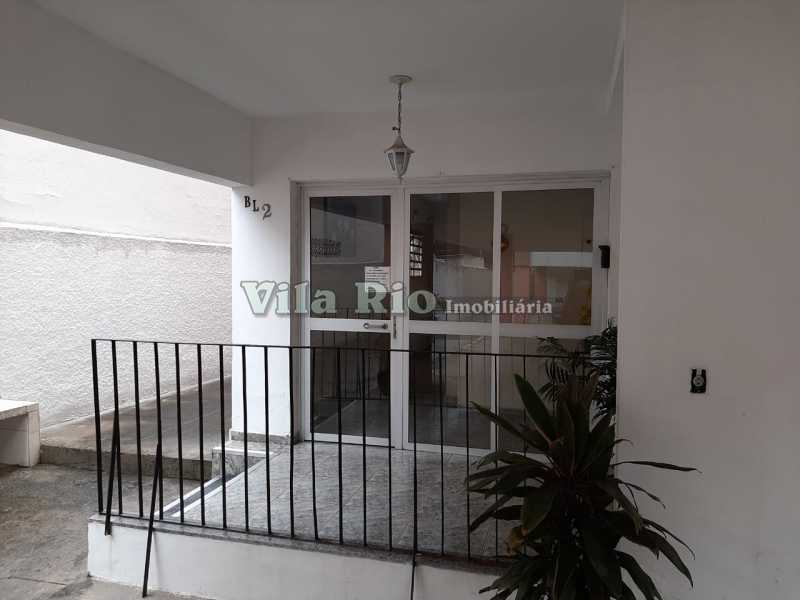 ENTRADA PREDIO - Apartamento 2 quartos à venda Campinho, Rio de Janeiro - R$ 250.000 - VAP20634 - 20