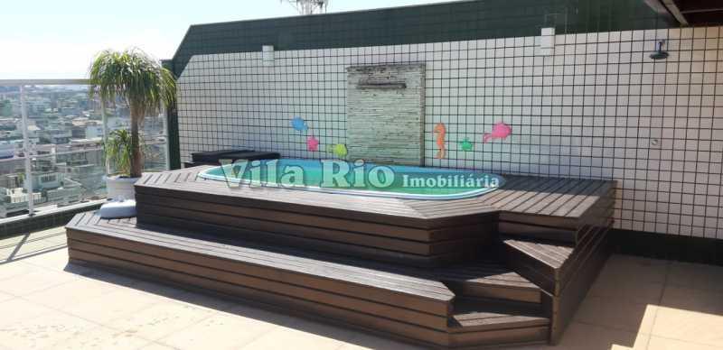 PISCINA - Cobertura 3 quartos à venda Vila da Penha, Rio de Janeiro - R$ 1.250.000 - VCO30017 - 1