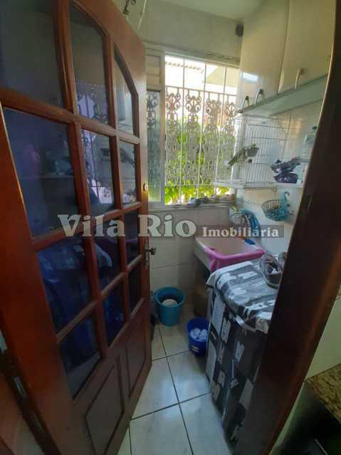 AREA DE SERVIÇO. - Casa em Condomínio 2 quartos à venda Colégio, Rio de Janeiro - R$ 200.000 - VCN20035 - 15