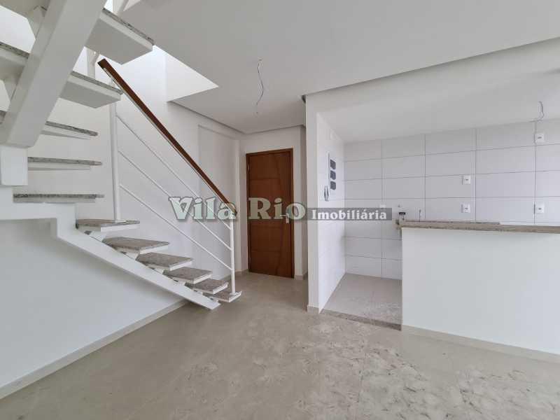 Salão 1 - Cobertura 2 quartos à venda Vista Alegre, Rio de Janeiro - R$ 667.000 - VCO20006 - 1