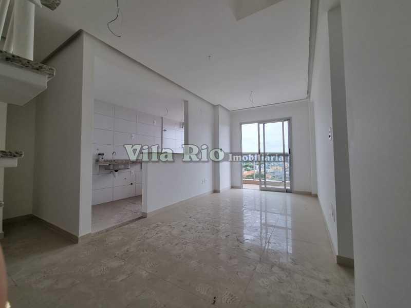 Salão 2 - Cobertura 2 quartos à venda Vista Alegre, Rio de Janeiro - R$ 667.000 - VCO20006 - 3