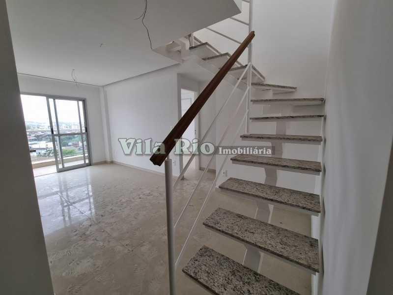 Salão 3 - Cobertura 2 quartos à venda Vista Alegre, Rio de Janeiro - R$ 667.000 - VCO20006 - 4