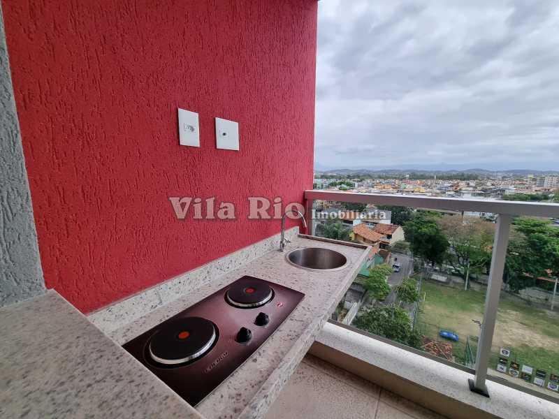 Varanda goumet - Cobertura 2 quartos à venda Vista Alegre, Rio de Janeiro - R$ 667.000 - VCO20006 - 12