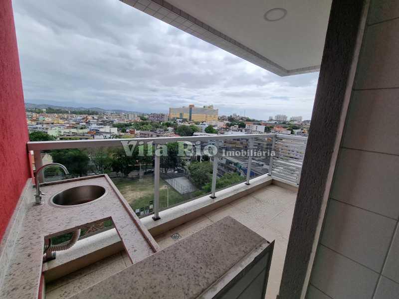 Varanda gourmet 2 - Cobertura 2 quartos à venda Vista Alegre, Rio de Janeiro - R$ 667.000 - VCO20006 - 13