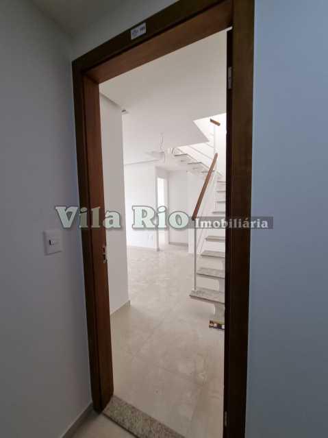 Entrada social - Cobertura 2 quartos à venda Vista Alegre, Rio de Janeiro - R$ 667.000 - VCO20006 - 15