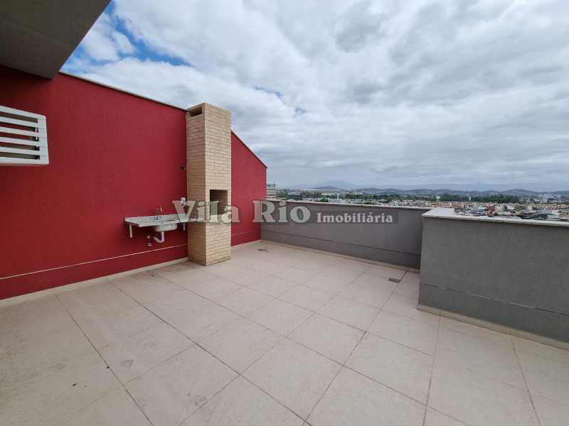 Terraço 1 - Cobertura 2 quartos à venda Vista Alegre, Rio de Janeiro - R$ 667.000 - VCO20006 - 17
