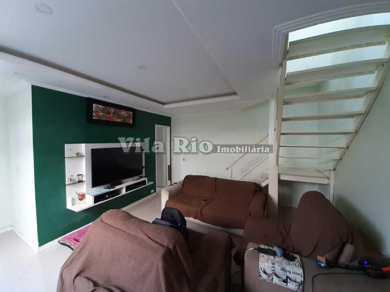 SALA - Casa 3 quartos à venda Cordovil, Rio de Janeiro - R$ 420.000 - VCA30072 - 1