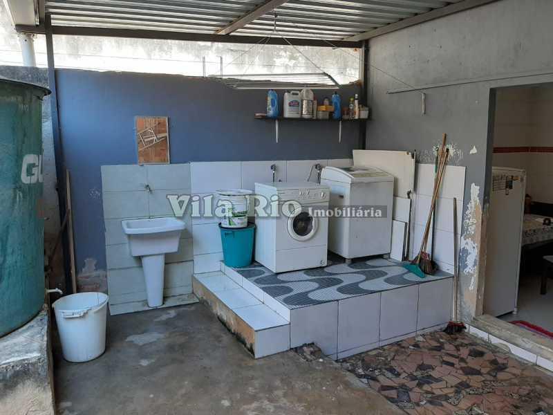 AREA DE SERVIÇO - Casa 3 quartos à venda Cordovil, Rio de Janeiro - R$ 420.000 - VCA30072 - 19
