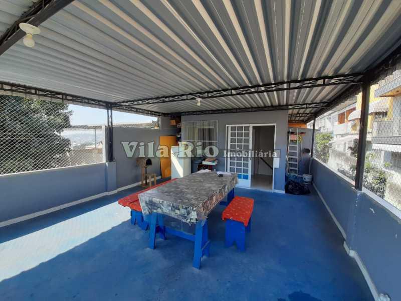 TERRAÇO - Casa 3 quartos à venda Cordovil, Rio de Janeiro - R$ 420.000 - VCA30072 - 24