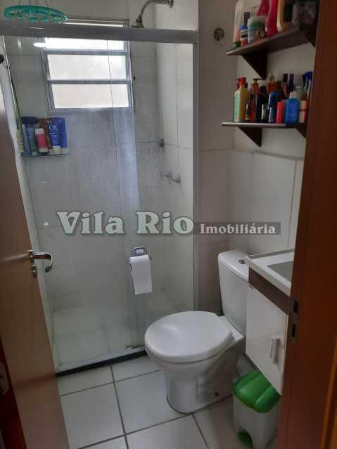 BANHEIRO 1. - Apartamento 2 quartos à venda Parada de Lucas, Rio de Janeiro - R$ 190.000 - VAP20642 - 10