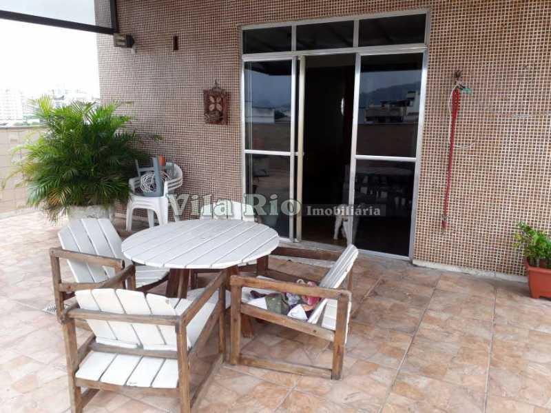 COBERTURA 1. - Cobertura 3 quartos à venda Vila da Penha, Rio de Janeiro - R$ 1.100.000 - VCO30018 - 1