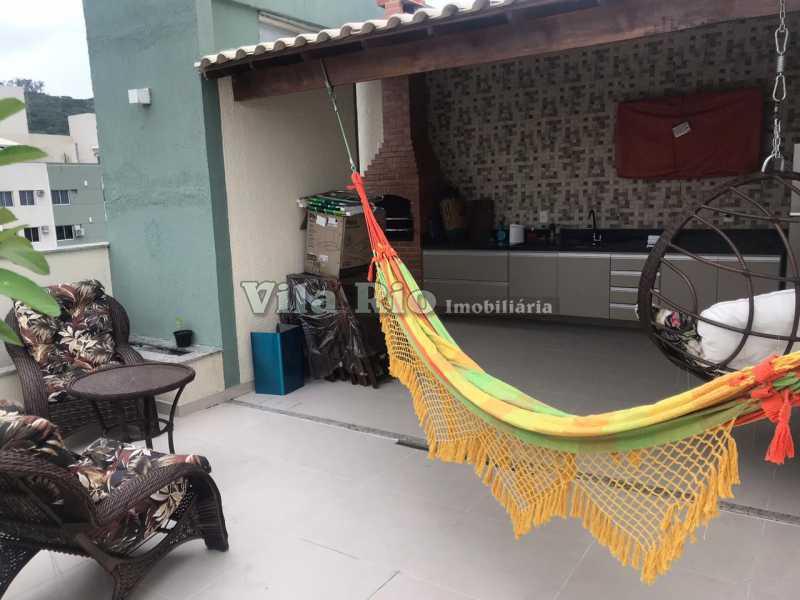 COBERTURA 1 - Cobertura 4 quartos à venda Vila da Penha, Rio de Janeiro - R$ 790.000 - VCO40007 - 1
