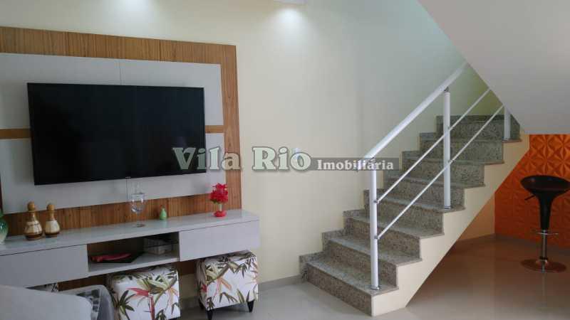 SALA 1. - Casa 2 quartos à venda Vista Alegre, Rio de Janeiro - R$ 780.000 - VCA20061 - 3