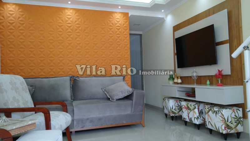 SALA 4. - Casa 2 quartos à venda Vista Alegre, Rio de Janeiro - R$ 780.000 - VCA20061 - 1