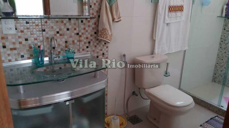 BANHEIRO 1. - Casa 2 quartos à venda Vista Alegre, Rio de Janeiro - R$ 780.000 - VCA20061 - 14