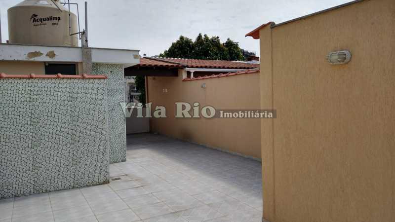 TERRAÇO 1. - Casa 2 quartos à venda Vista Alegre, Rio de Janeiro - R$ 780.000 - VCA20061 - 30