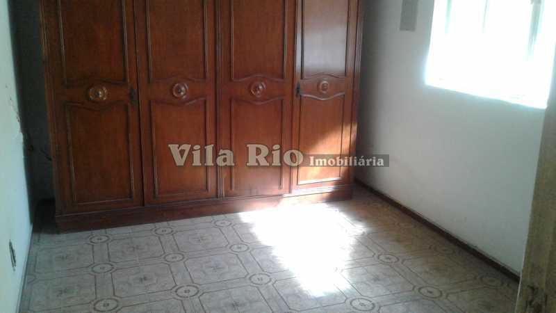 QUARTO 1 - Casa 3 quartos à venda Vila da Penha, Rio de Janeiro - R$ 500.000 - VCA30075 - 5