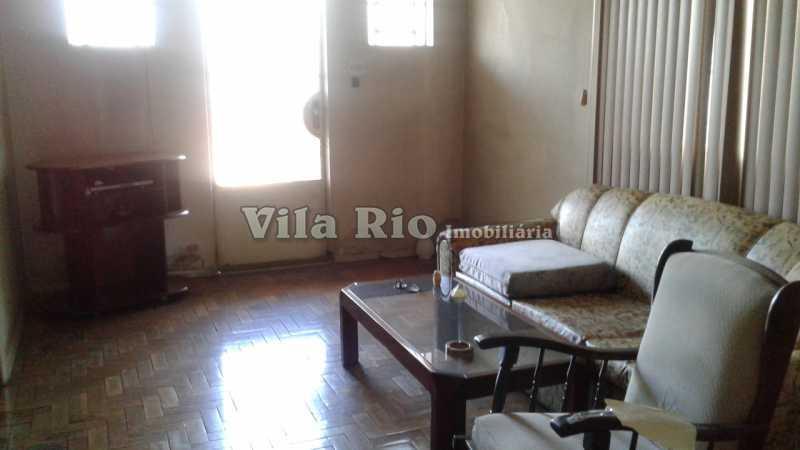 SALA 1 - Casa 3 quartos à venda Parada de Lucas, Rio de Janeiro - R$ 600.000 - VCA30076 - 1
