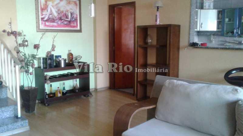 SALA 2 - Casa em Condomínio 3 quartos à venda Vila da Penha, Rio de Janeiro - R$ 600.000 - VCN30011 - 3