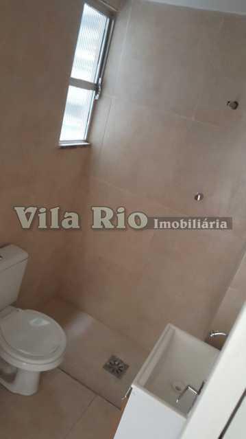 BANHEIRO 1. - Apartamento 1 quarto à venda Engenho da Rainha, Rio de Janeiro - R$ 130.000 - VAP10059 - 10