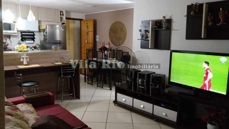 Sala.1 - Casa em Condomínio 3 quartos à venda Vista Alegre, Rio de Janeiro - R$ 470.000 - VCN30012 - 3