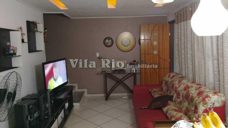 Sala - Casa em Condomínio 3 quartos à venda Vista Alegre, Rio de Janeiro - R$ 470.000 - VCN30012 - 1